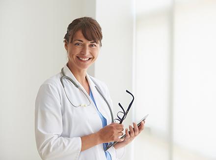 Helsepersonell på sykehus